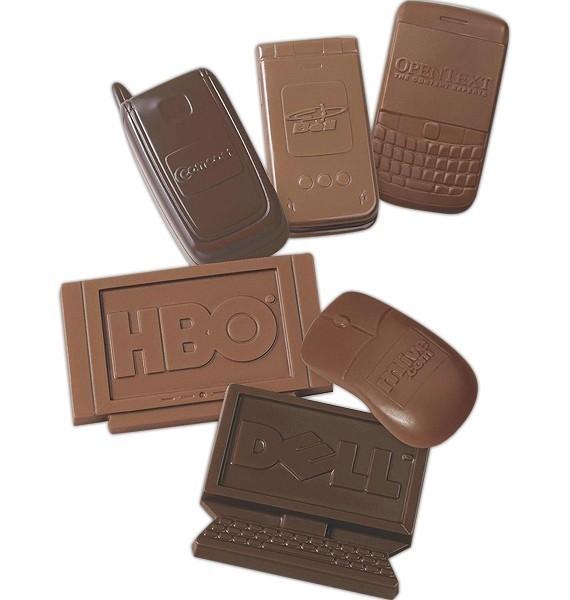 שוקולד בצורות - דוגמאות שונות